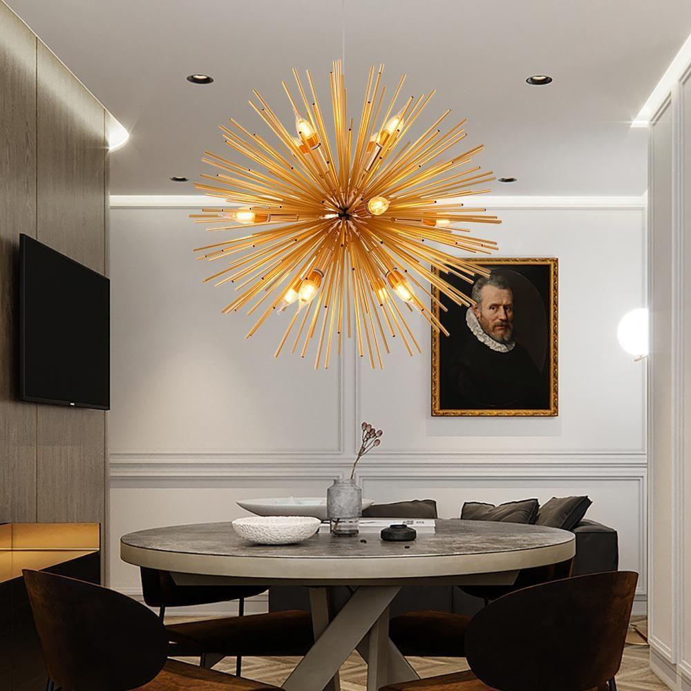Lámpara LED moderna iluminación sala de estar lámpara colgante dormitorio decoración artística hogar lámparas colgantes diseño nórdico accesorios de luz
