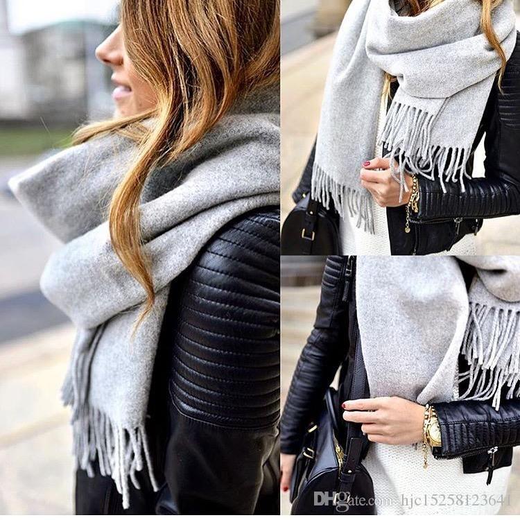 2020 concepteur de l'hiver de la mode 100% cachemire écharpe pour les femmes des hommes de luxe haut de gamme classique chaud Vérifiez Pashmina Châles Femme Echarpes