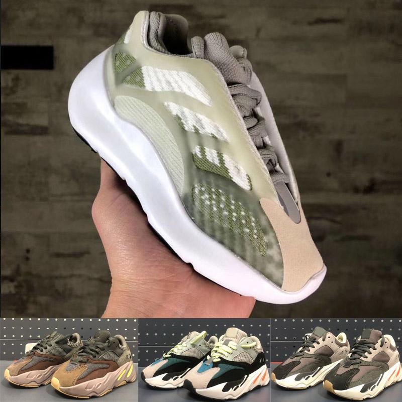 2020 Wholesale Kanye West 700V3 Boy Girl Girl Jeunes enfants Sport Sneaker
