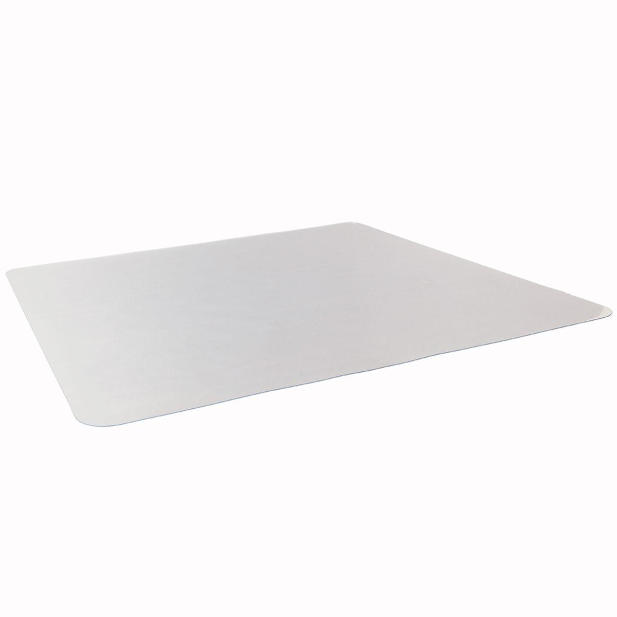 Nail olmadan Şeffaf PVC Dikdörtgen Mat Zemin Koruma Mat Sandalye Mat Yüzey Anti-çizik Mat