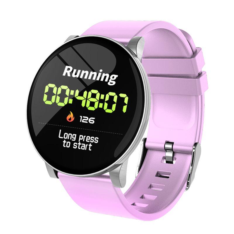 W8 Smart Watch Sport Fitness Tracker IP67 Waterproof Smartwatch Running Cycling smart Wristband Smart Band