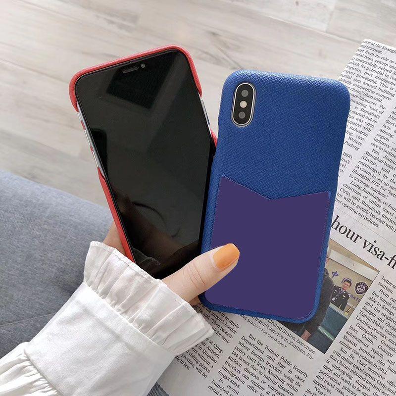 casse del telefono del progettista un pezzo solo per iphone 11 Pro Max 6 7 8 più la copertura del sacchetto della carta di nuovo modo a iphone X XR XS MAX