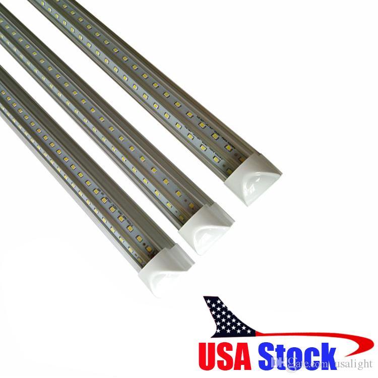 Integrado 3 pies en forma de V T8 Led tubos de luz 270 Ángulo 25W enfriador de puerta 900mm llevó las luces del tubo blanco frío AC 85-277V f8t5