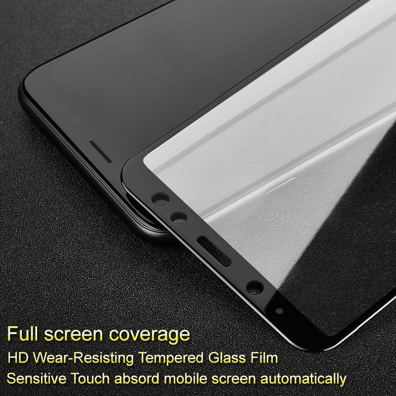 оптовые продажи Pro + Защитная пленка для Samsung Galaxy A6 2018 с полным покрытием из закаленного стекла для Samsung A6 2018 Полный клей Absord