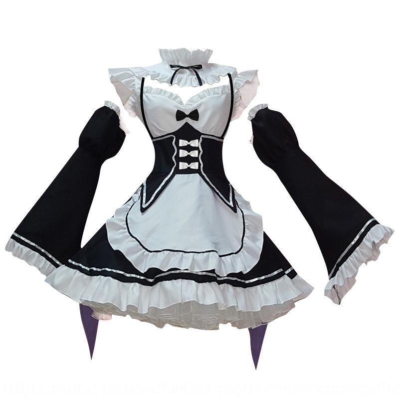 cosplaywo Ramam costumi abbigliamento Cosplay delle donne tuta cameriera Ramam falso Niang grandi dimensioni cambiamento-up costume abbigliamento maschile
