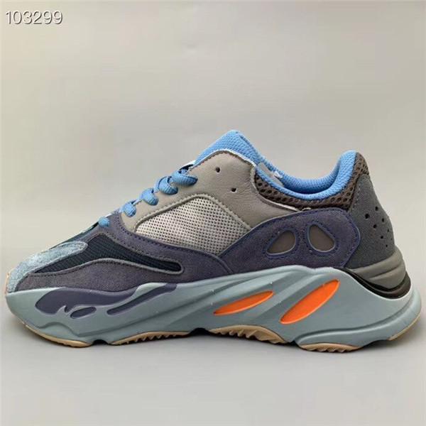 Wholesale Carbon Blue 700 V2 Designer Shoes Wave Runner Teal Blue Vanta Inertia Kanye West Running Shoes Men Women Sport Shoes