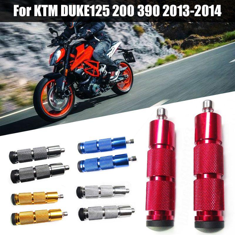 Alumínio Motor Footpegs dobráveis sirvam CNC portátil Motorcycle Footpegs para Pedais traseiros para
