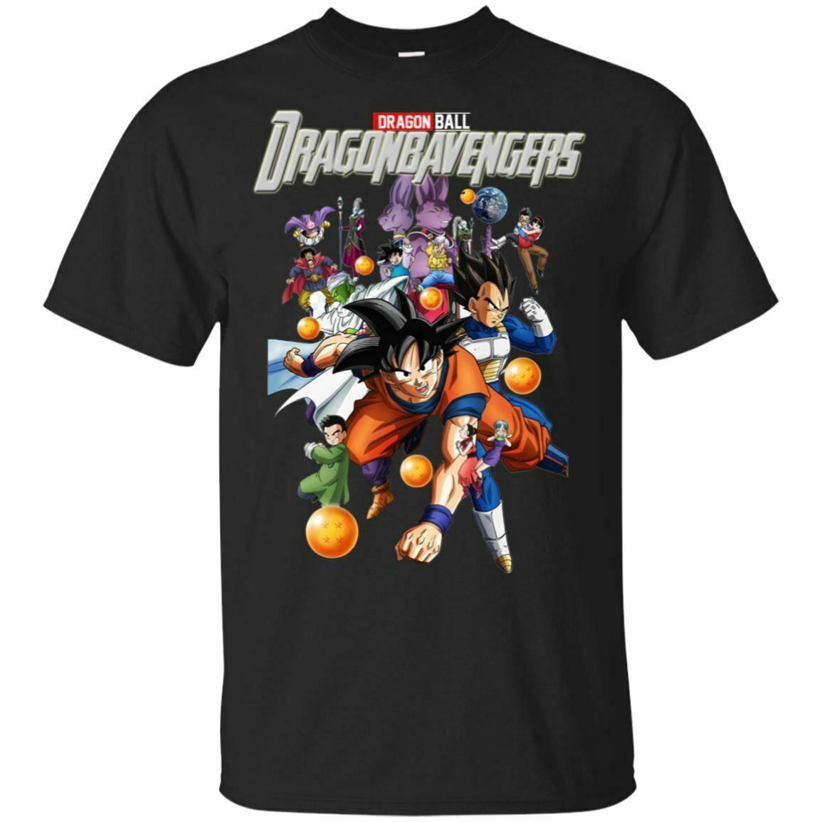 Dragonba Мстители Рубашка EndGame Черный Navy Одежда