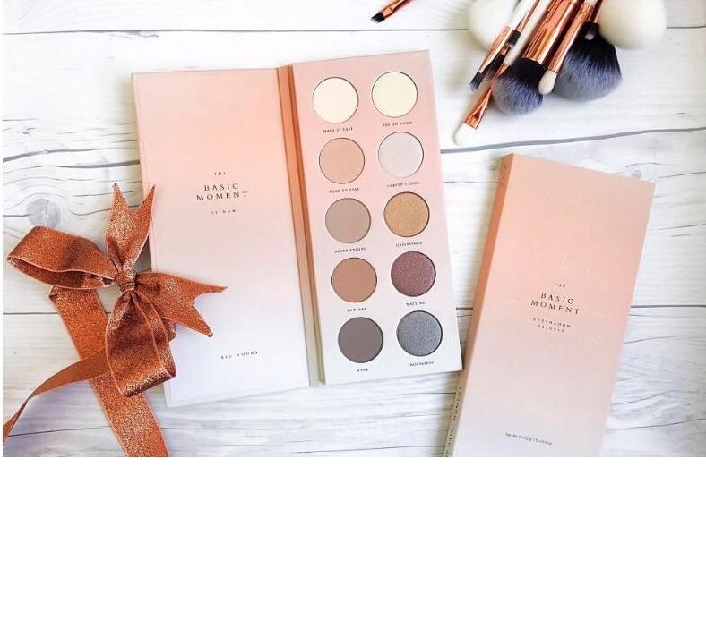 Maquillage Новейший бренд макияж глаз тени Палитра BASIC Момент Eyeshadow / Blush 10 Цвет глаз тени