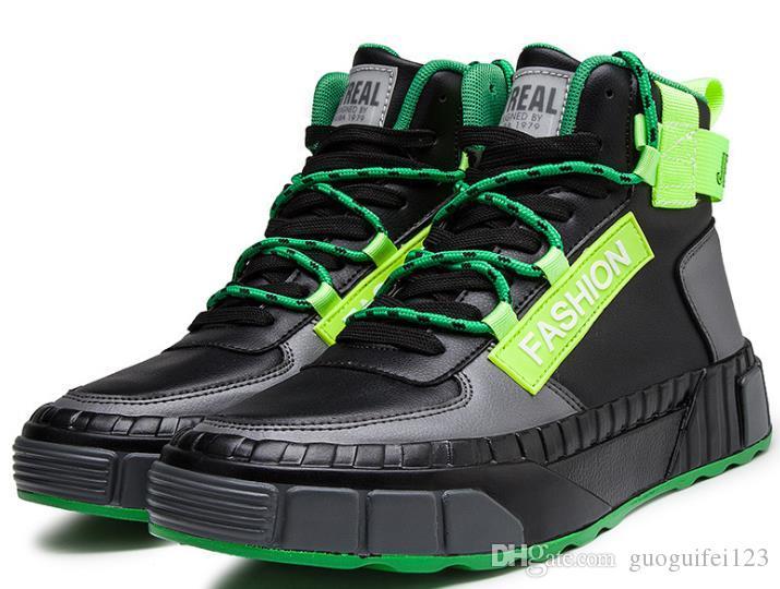 Erkek ayakkabıları yeni listeleme sonbahar ve kış sokak dance kaykay ayakkabıları
