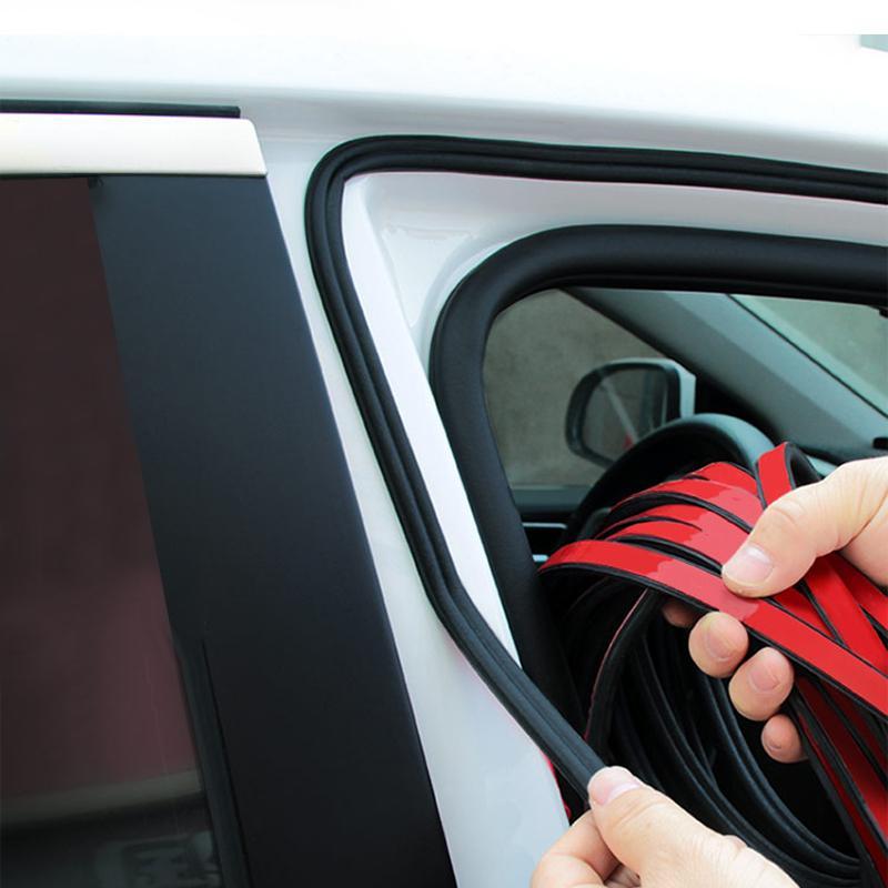 Car Styling 4/5/10/16 Metri B Tipo auto Guarnizione isolamento acustico Weatherstrip disturbo bordi di isolamento porta tenuta Strip