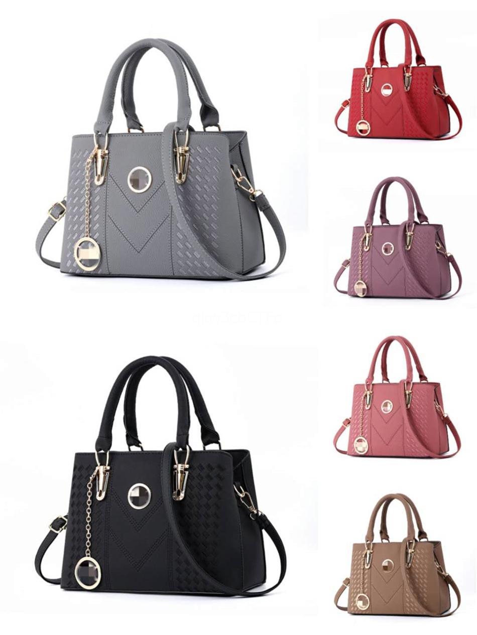 Sıcak Satış Moda Kadınlar Çanta Tasarımcı çanta Deri Zincir Çanta Crossbody Ve Omuz Çantaları # 505
