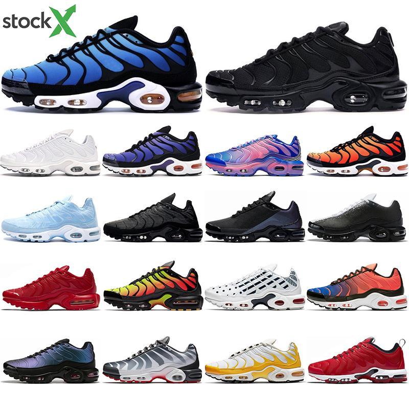 2020 tn Plus SE scarpe tripla nero bianco blu Hyper Vernice spray Urlo Green Deluxe mens sport allenatore corridore sneakers dimensioni in esecuzione 40-45