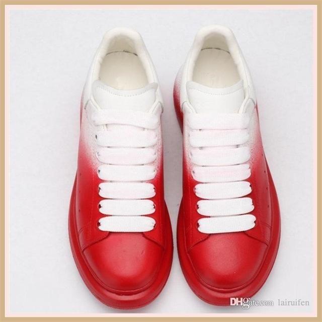 New Shoes cristallo uomini rimovibile scarpe casuali donne Sneaker Faow Cut Sneakshion colori misti strass catena Lace Up Scarpe Ler d31