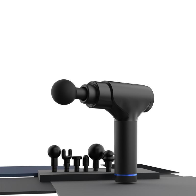2500mAh Rechargeable Lithium Battery Massage Gun Health Care LCD Touch Control 20 Speeds Level 2020 Massage Gun
