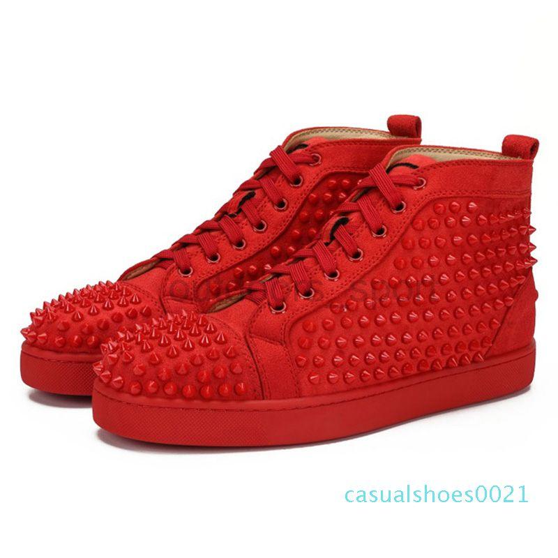 Designer Luxury Mens Red Bottoms Shoes