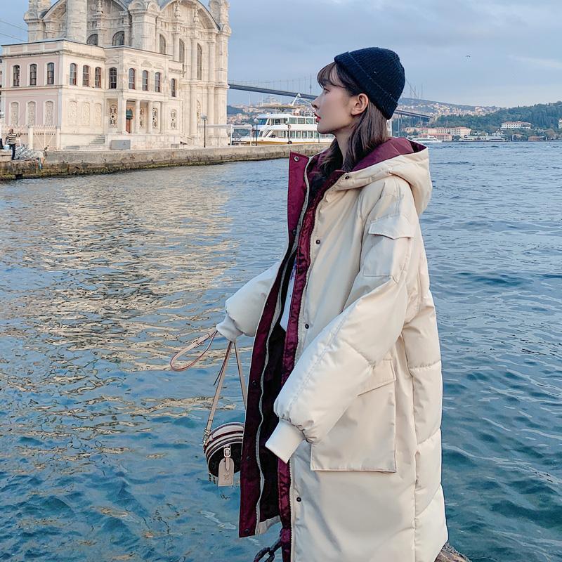 Giacca invernale donne parka Plus Size donna cappotto rivestimento delle donne Cappotti e giacche invernali Winterjas Dames 2020 8916-km WPY767