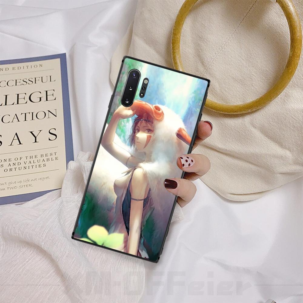2020 Принцесса Мононоке пользовательские фото мягкий чехол для телефона Samsung A50 S10 Plus S10E Note9 Note8 7 10 Pro Оптовая продажа