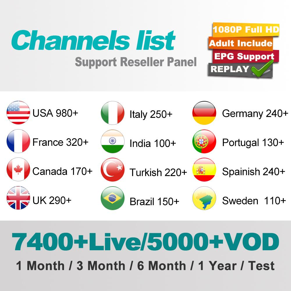 IPTV Subscription Caribbean FREE Watch 40+ LIVE TV Channels With And More  Than 30 Other Countries HD Series 7400+Channels Tv Reciver Tv Set Top Boxes