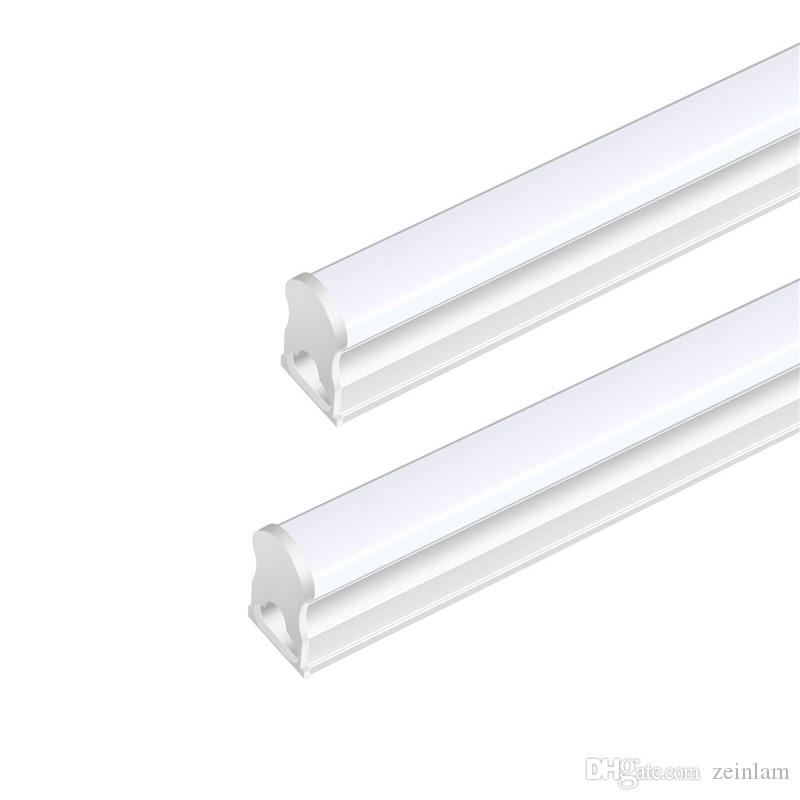 T5 LED Tube Light Integrated Single Fixture, Transparent cover milky cover, Utility Shop Light, Ceiling and Under Cabinet Light
