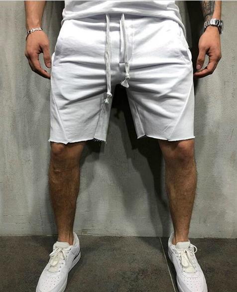 Mens Designer Summer Pantalon court Solide Couleur Vêtements de course Hip Hop Sport OISIRS Joggers Sweatpants