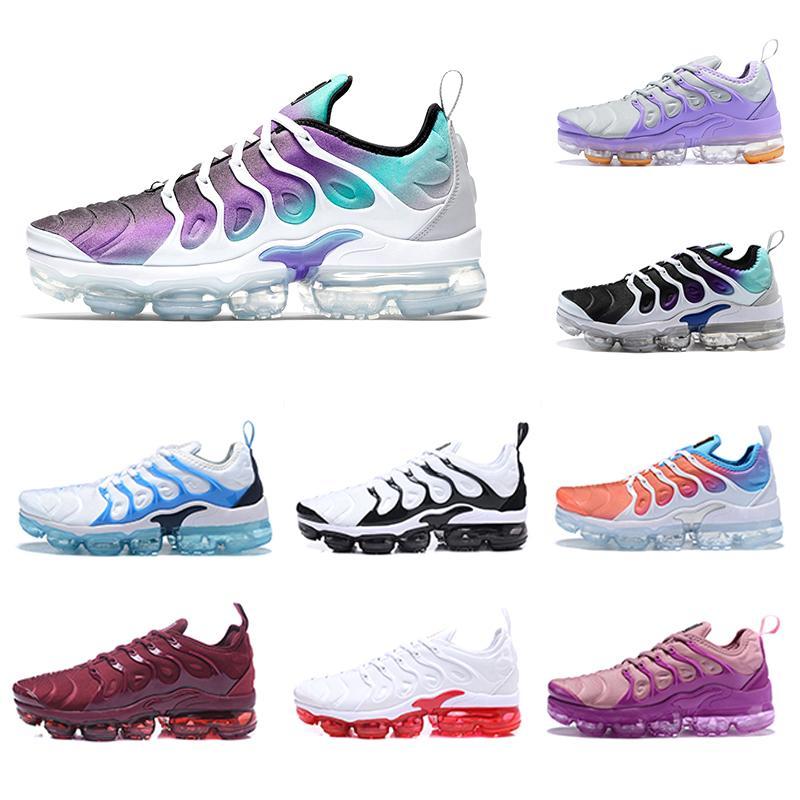 espacio búnker Abreviar  Compre Nike Air Vapormax Plus Tn Shoes Grape Psychic Pink TN Plus Mujeres  Cojín Suave Zapatos Púrpura Light Menta Lemon Lime Girl Mujer Mujer  Zapatillas Deportivas Zapatillas 36 40 EUR A 35,49
