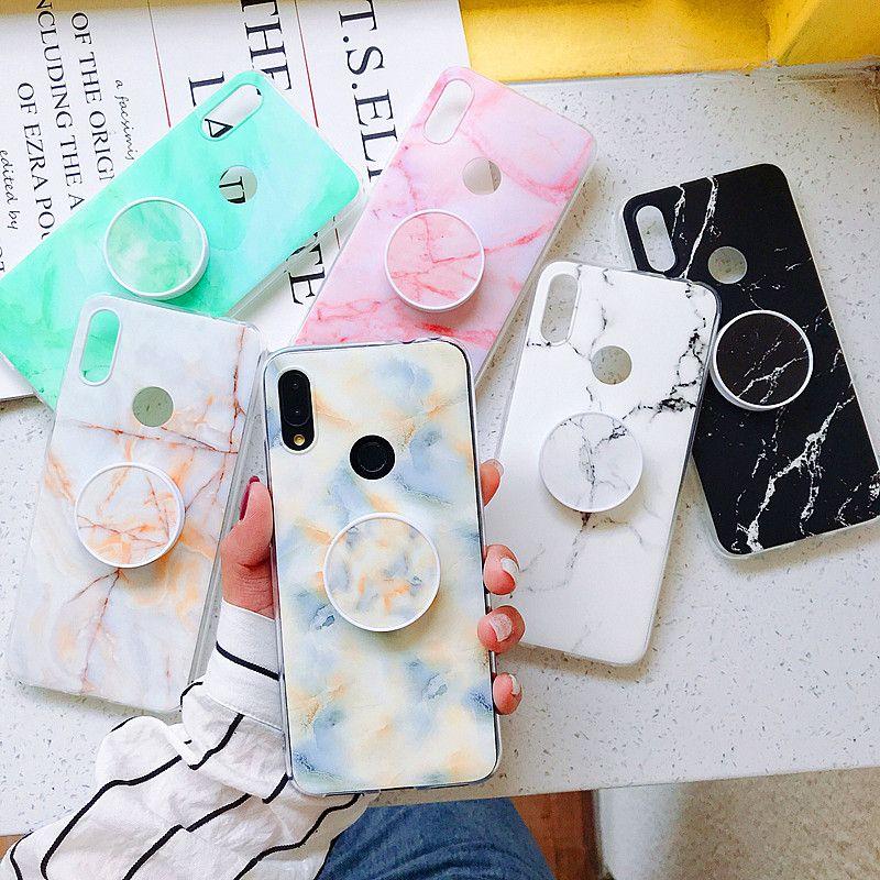 Cover Gel TPU Per Xiaomi Redmi Note 9S / Note 9 Pro Disegno Marmo 13 Disegni
