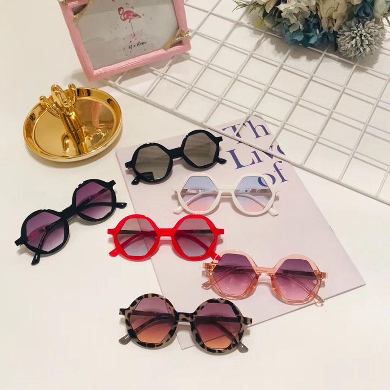 2020 NEW kids sunglasses Hot Fashion Child Sun glasses Brand Vintage Round eyewear UV400 Bpy&girls eye glasses Children N505