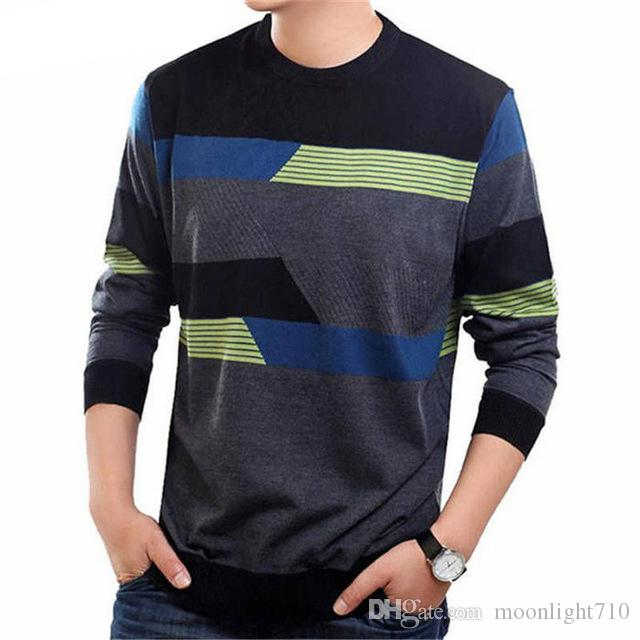 O-Neck Sweater Men Casual Dress Clothing Mens Sweaters Cashmere Wool Pullover Men Long Sleeve Shirt Pull Homme 19