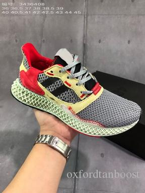 Men AlphaEdge ZX4000 Futurecraft Print 4D Running Shoes Women ZX 4000 Triple Black Sports Sneaker Chaussures Zapatillas 36-45 No Shoes Box