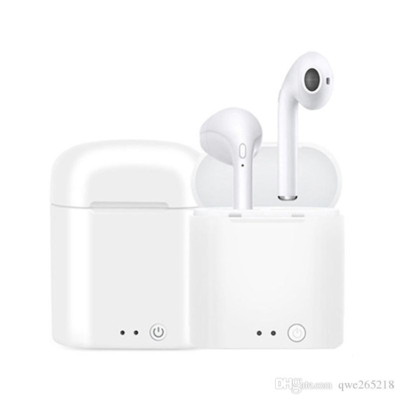 Wholesale Price i7 i7S TWS Twins Bluetooth Wireless Earphone With Charger Dock Earbuds V4.2 Stereo Headphone For iPhone X Xr Xs Max 8 iOS S9