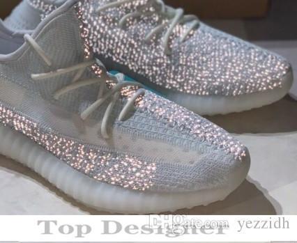 impulso350v22019 estática argila Hyperspace verdadeira forma V3 Mens mulheres Running Shoes Trfrm Beluga 2,0 Laranja Kanye West Creme Preto Br