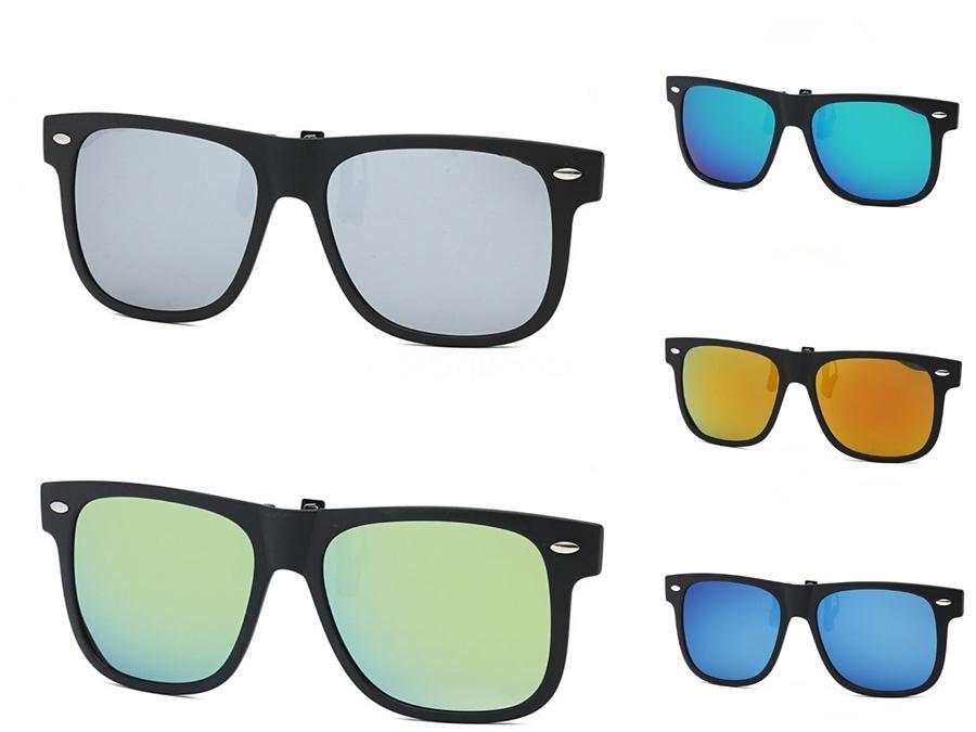 Piazza TR90 Sunglasee oversize TR90 Sunglasee Raffreddare vetro di modo di guida Beach Vacation Tour Occhiali da Sole Uv400 7 colori # 18494