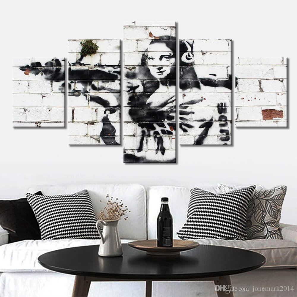 HD Print Oil Painting Home Decor on Canvas Black Widow Multiple Size Options