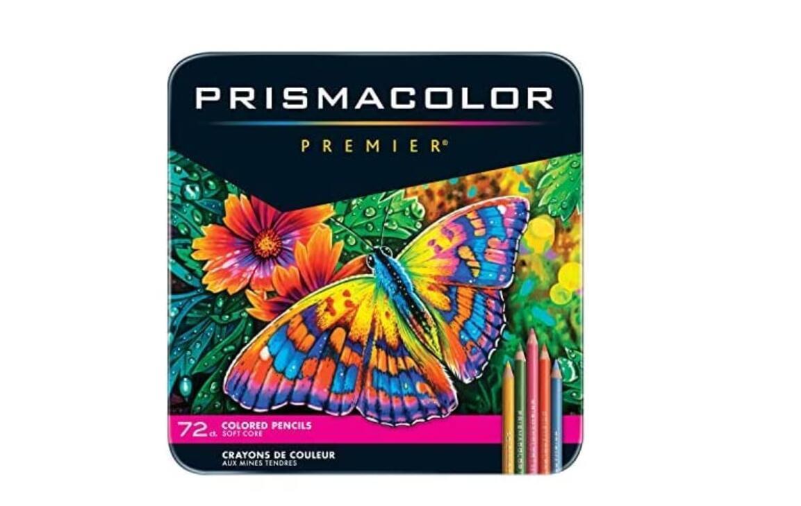 lapis de cor USA Sanford Prismacolor Premier 72 color sketch oil color pencil set 3.8MM soft core art design hand drawing painting pencil