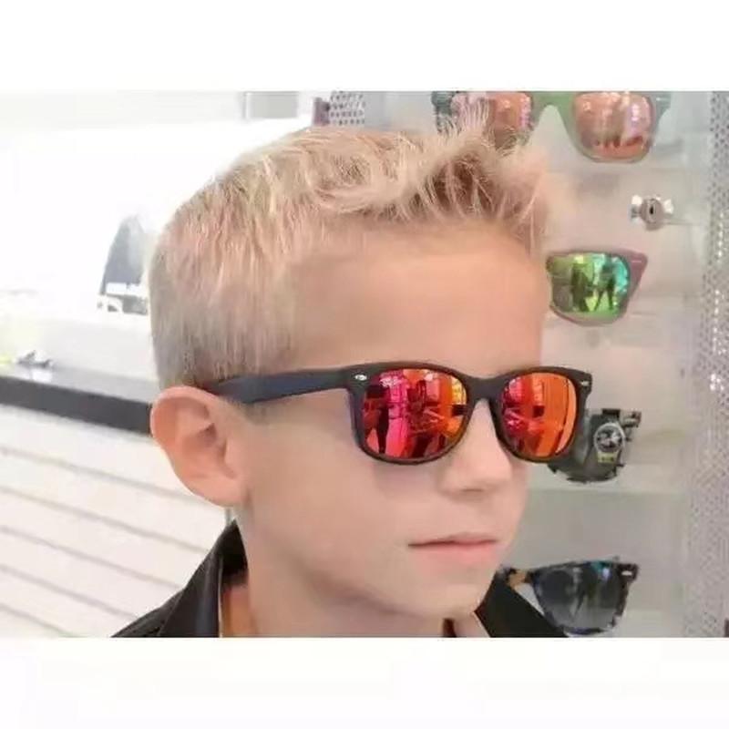 أعلى نوعية جديدة النظارات الشمسية للأطفال بنين الطفل مصمم النظارات الشمسية العلامة التجارية بنات الأطفال نظارات شمسية للبنين UV400 الأزياء الفاخرة نظارات شمسية