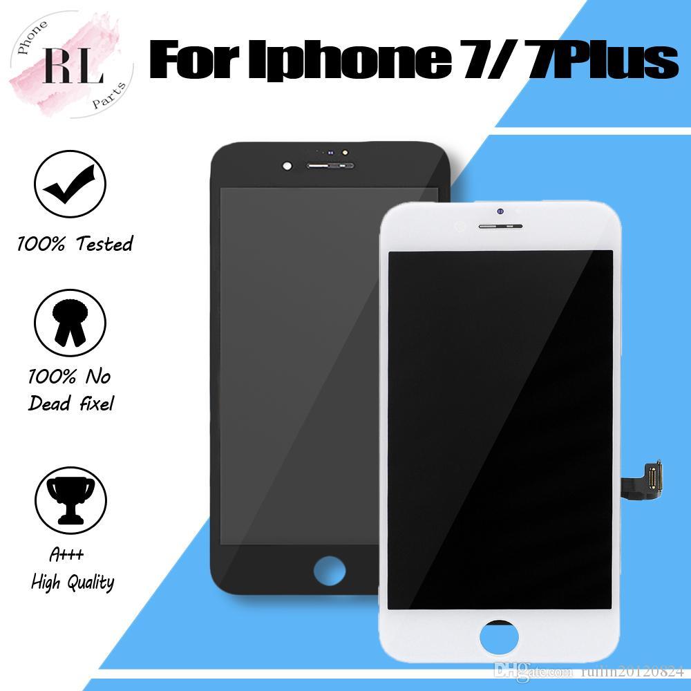 Display LCD per iPhone 10PCS 7 7 più moduli touch screen digitalizzatore Display LCD 7 schermi LCD Sreplacement