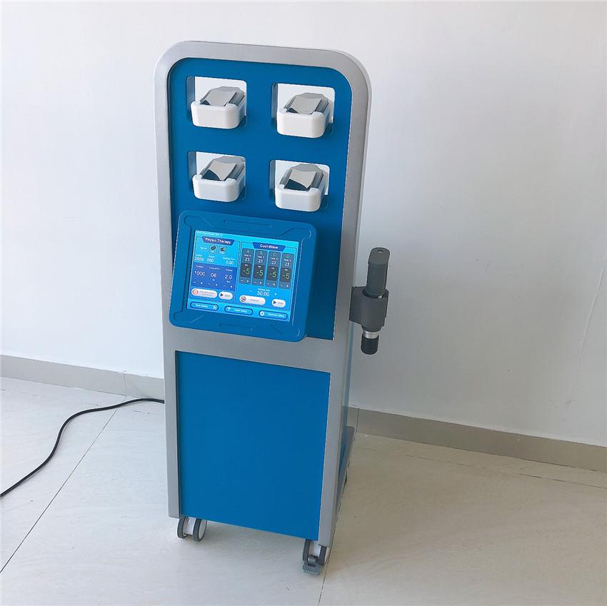 Cryopads & Thermal Shock System Large surface Non-suction fat freezing slimming machine pneuamtic shockwave therapy machine for ED