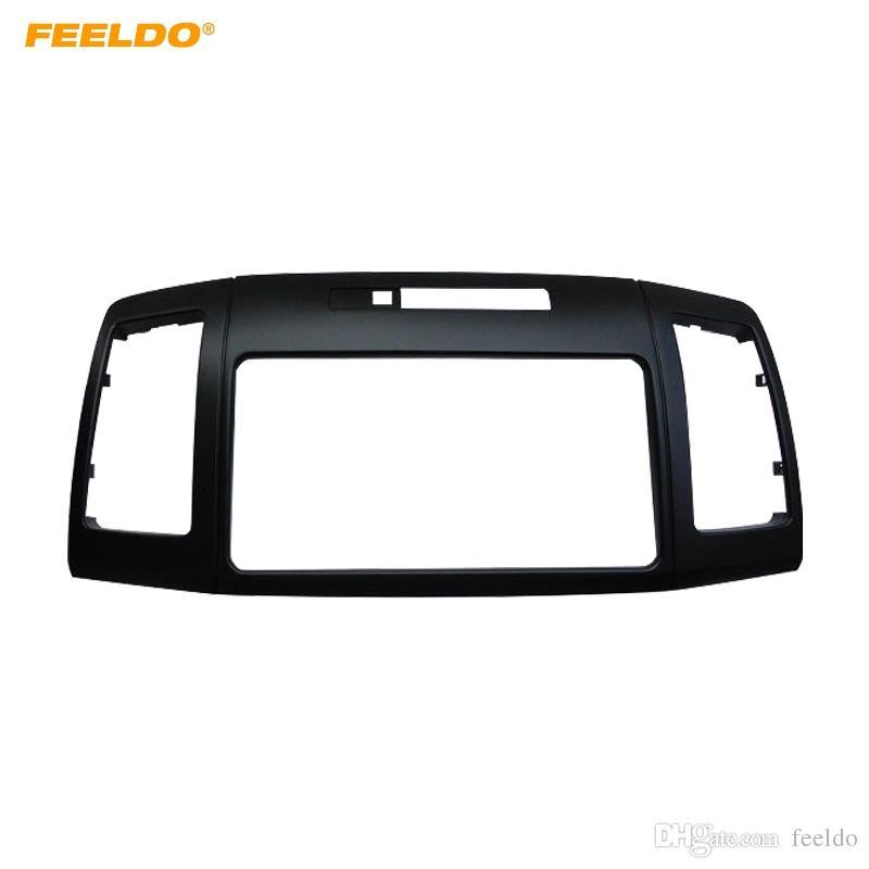 FEELDO Car Stereo 2Din Panel Fascia Frame Adapter For Toyota Allion Premio Audio Dash Facia Trim Refitting Kit #4885