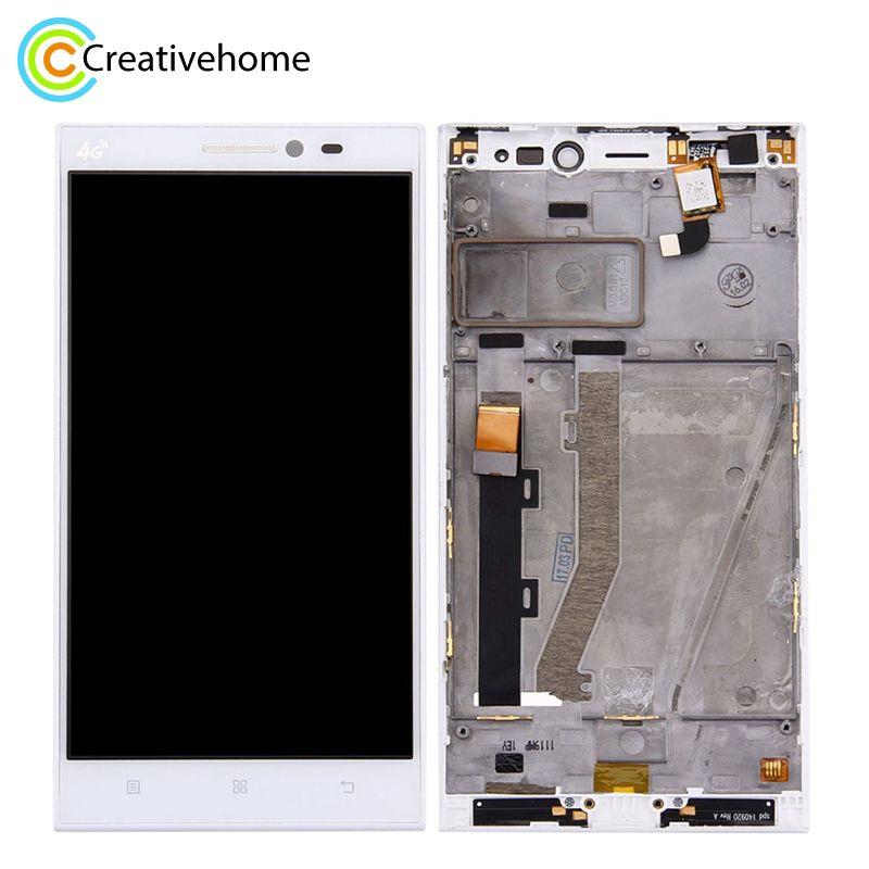 Pantalla LCD de alta calidad y digitalizador de montaje completo de LCD de vidrio de reemplazo para Lenovo Vibe Z2