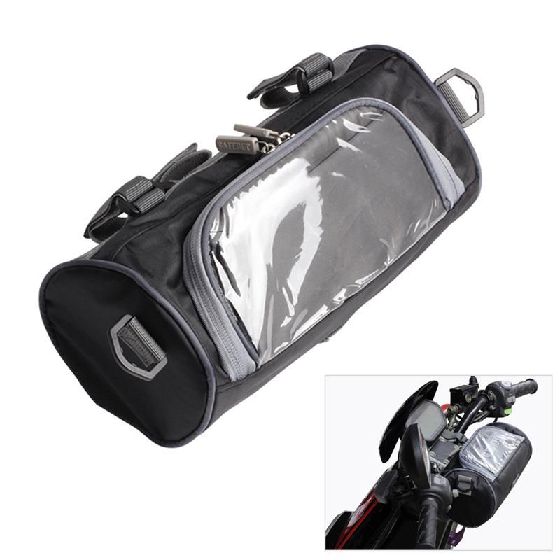 Herramientas bolso de la motocicleta del coche eléctrico delantero del manillar Tenedor bolsa de almacenamiento Oxford Repelente de Agua Tela viaje de la motocicleta bolsa de almacenamiento