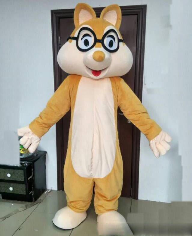 Hot selling High quality Squirrel Adult Mascot Costume Fancy dress