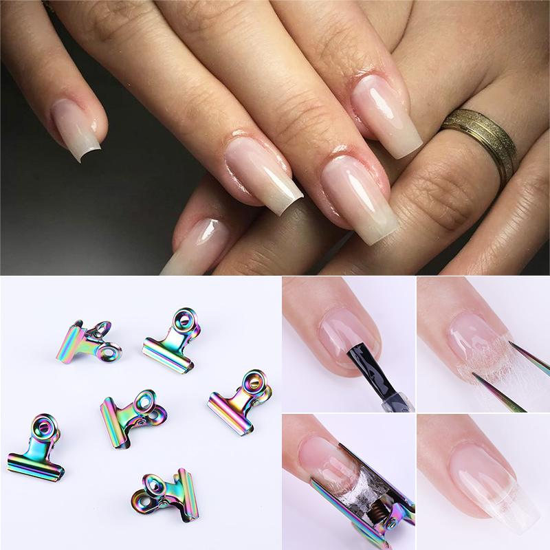C Curve Nail Pinching For Fiberglass Nails Tips Extended Stainless ...
