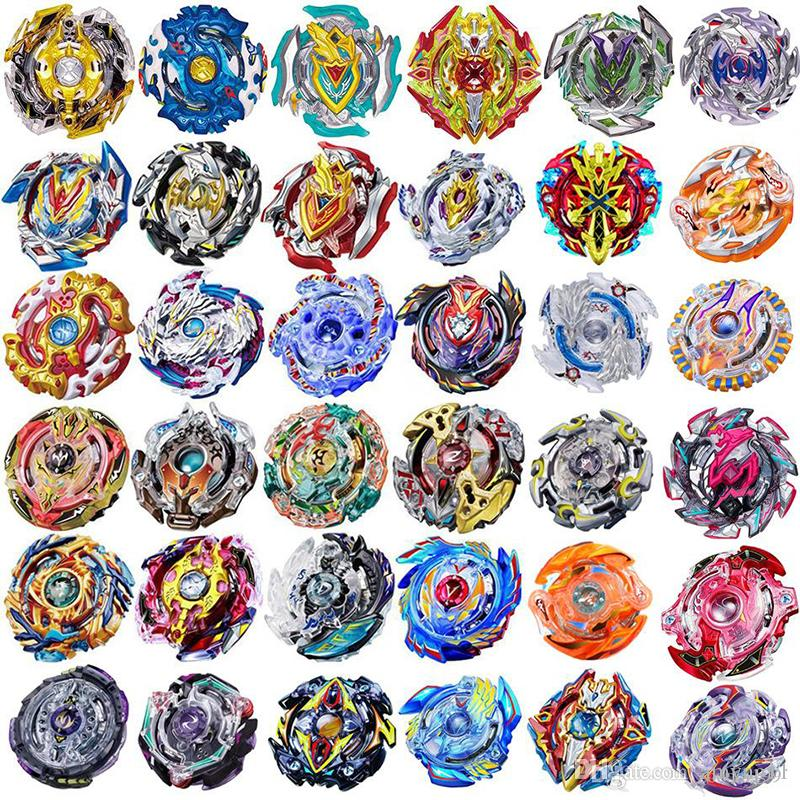 4D Beyblades Bey blades 100 Patterns Toys Toupie Beyblade Without Launcher and Box Burst Arena Metal Fusion God Spinning Bey Blade kids Toys