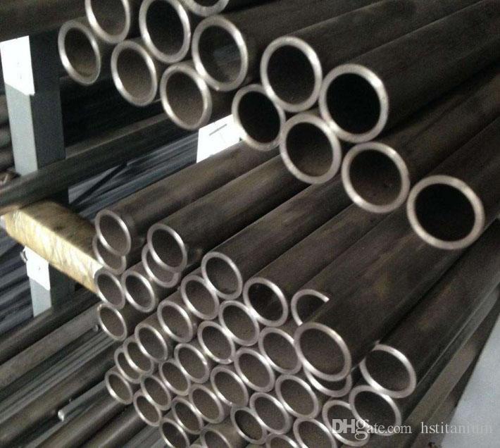 Astm b338 tube titane grade 9 pour tube titane pour tuyau d'échappement tube ASTM SB338 Gr1 Gr2 Gr5 personnalisé