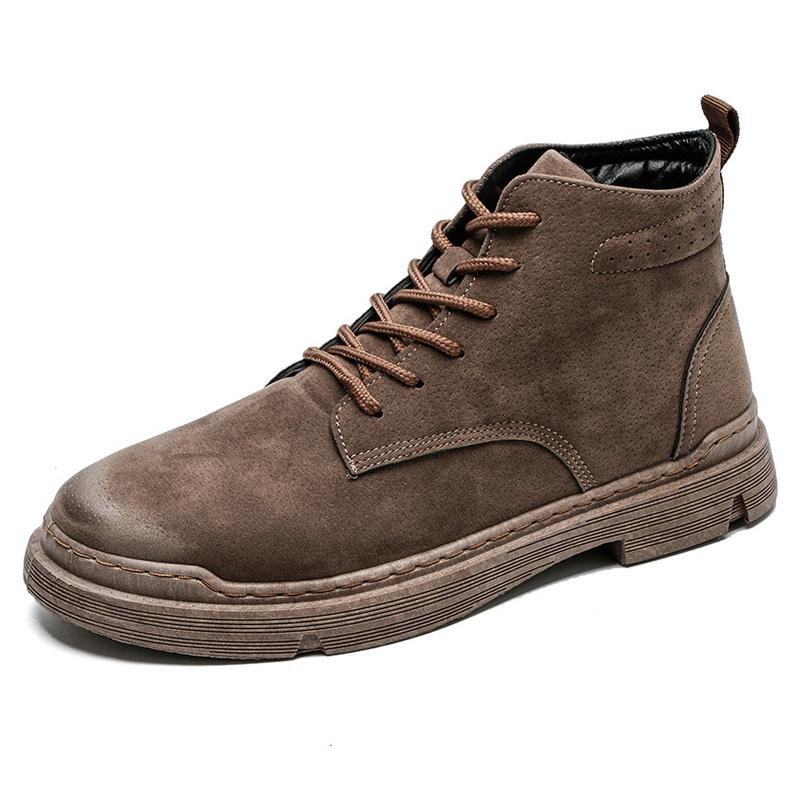 2019 Men Boots Winter Leather Special Force Desert Ankle Combat Boots Men  Leather Snow Army Footwear Big Size Shoes Online Basketball Shoes From