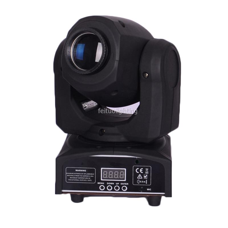 4pcs/lot 10w led moving head spot light used moving head lights for dj party show wedding high quality stage light