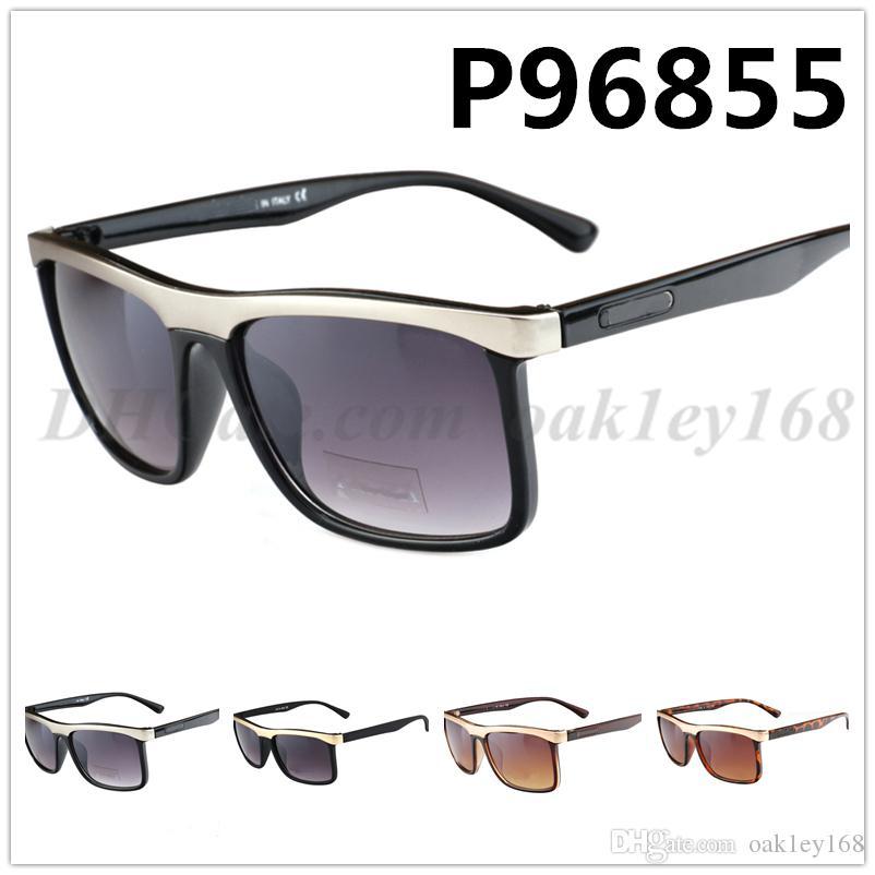 High Quality Brand Designer Sunglasses New 96855 Fashion Retro Men Women Cycling Outdoor Retro Frame UV Protection Glasses
