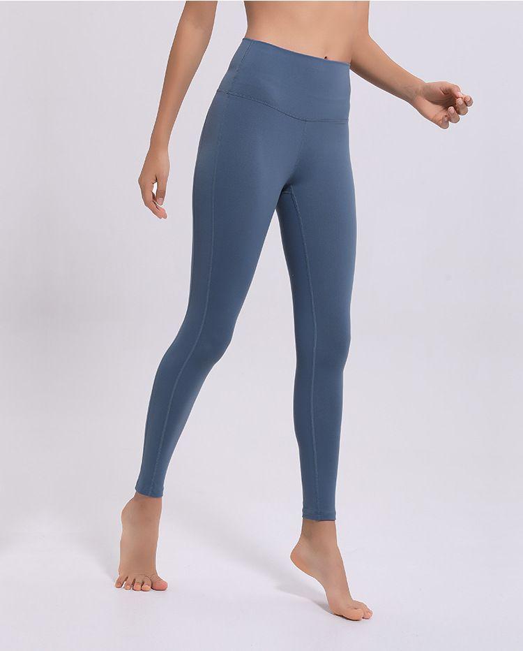 Las mejores mujeres de talle alto entrenamiento ajustados pantalones de la yoga Eco Friendly atractiva caliente Soft pantalones de yoga cómodo Leggings