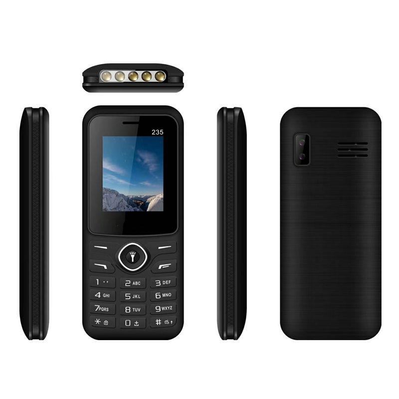 235 Smart Phone GPRS / Wap / Whatsapp 1.77inch 64MB / 32MB Supporto fotocamera 8W Supporto audio MP3 MP4 Supporto multi-lingua Torch light Cell Phone